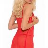Red Sexy Surprising Valentine Babydoll Lingerie Set 3